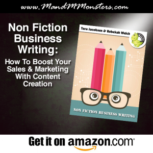 Business writing ad