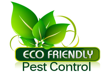 Emblem for eco friendly pest control