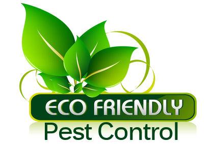 Emblem for eco friendly pest control